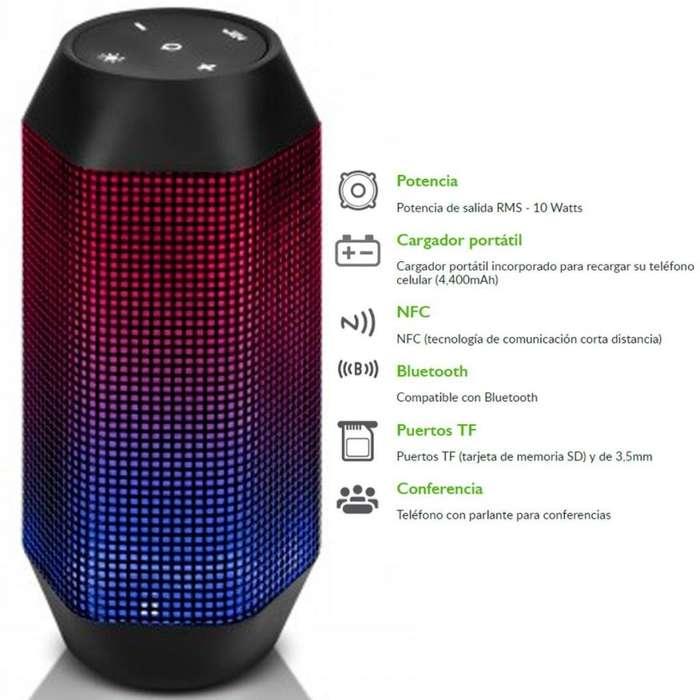 Parlante Bluetooth Led
