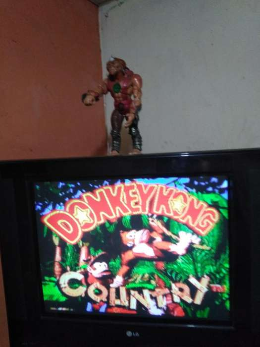 Juegazo Original Dk Kong Country Hermoso