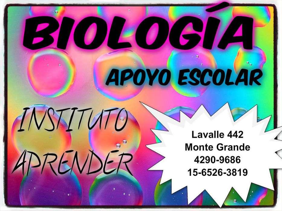 Apoyo escolar de Biologia en Monte Grande