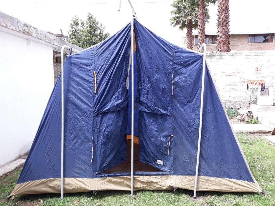 <strong>carpa</strong> 6 personas camping