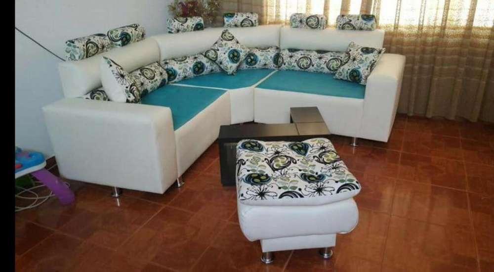 Salas deko tipo Rio nuevas con cómoda!! gran promoción fin de año!!