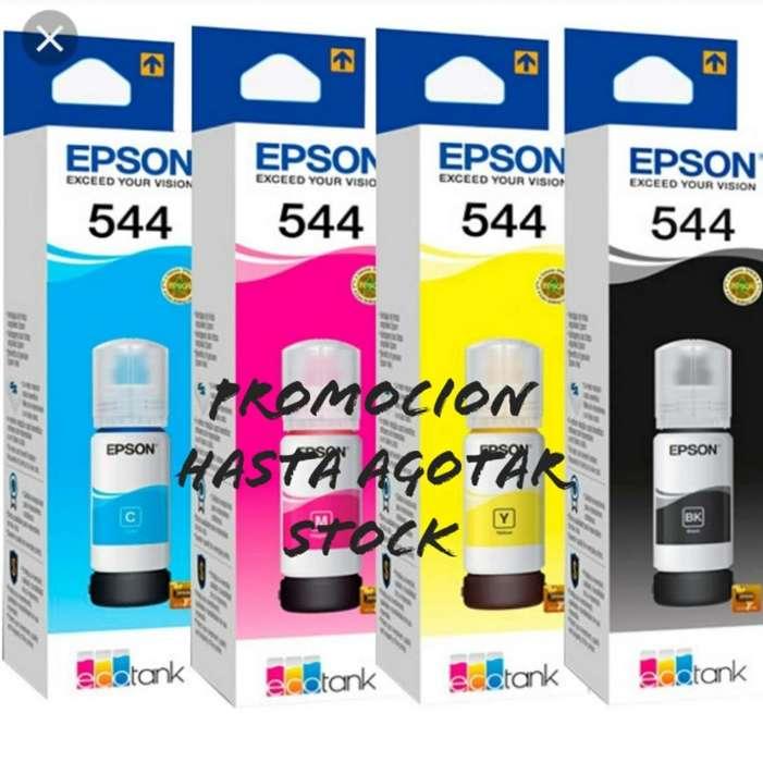 Tintas Epson Originsles de Promocion