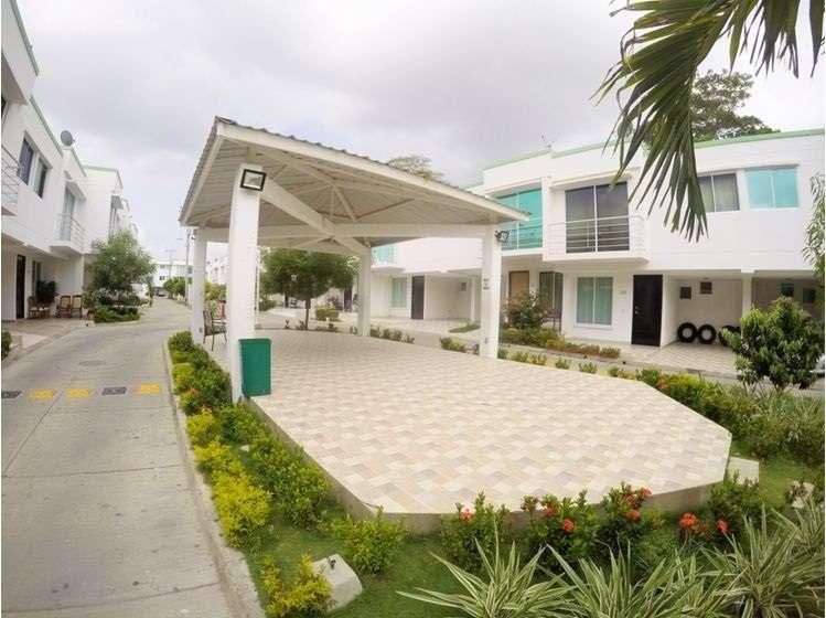 Arriendo casa en Conjunto cerrado Recreo,Cartagena - wasi_1258643