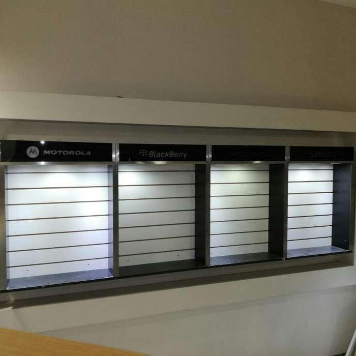 Nichos para Accesorios con Iluminacion Y
