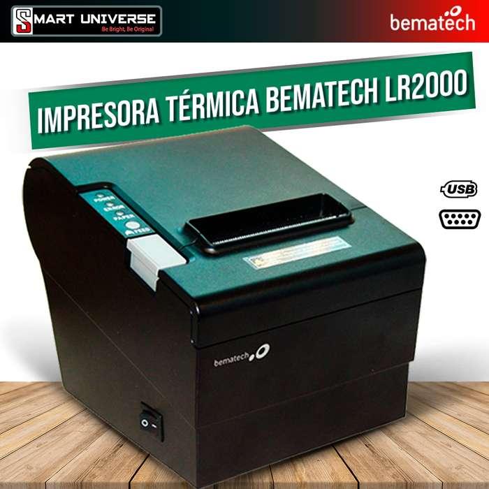 Impresora Termica Bematech Lr2000 Usb Serial Puntos de <strong>venta</strong>s