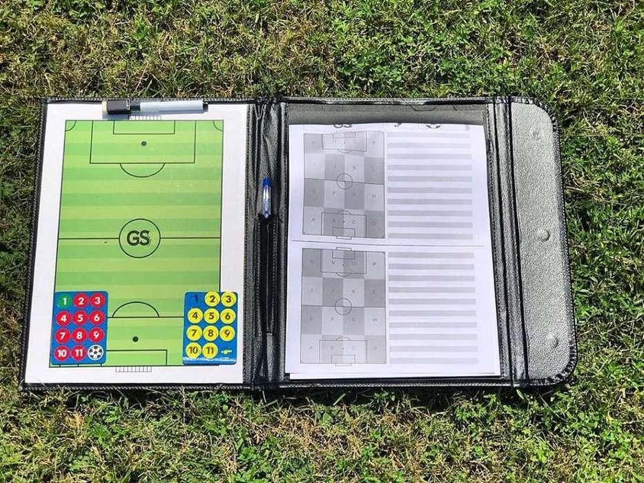 Pizarra Agenda Táctica de Fútbol