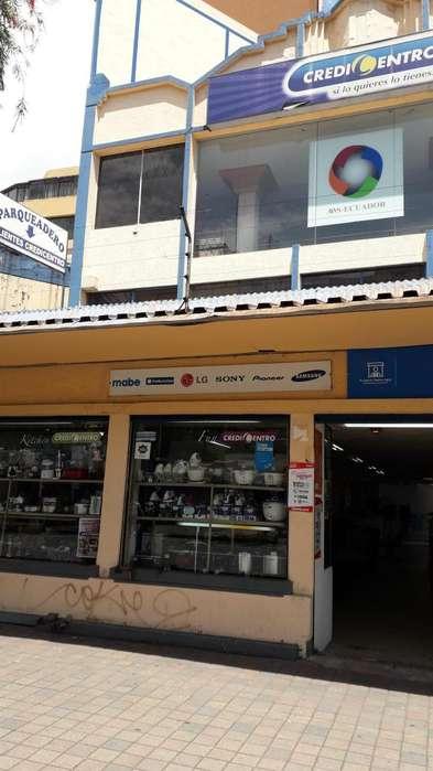 Venta de locales comerciales av. Amazonas.