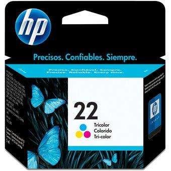 Cartucho tinta color hp 22