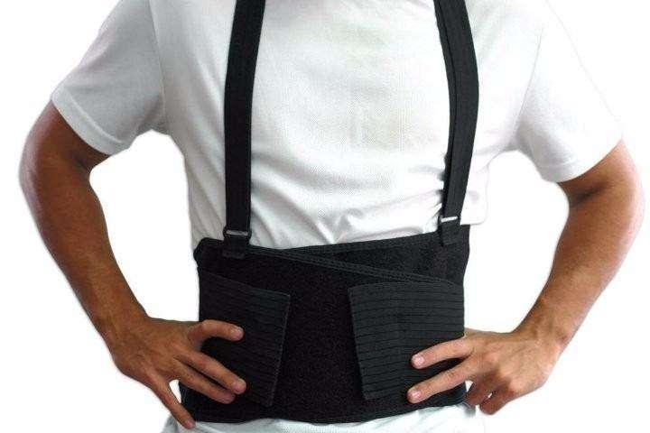 Faja Cinturón Para Levantar Peso Tipo Industrial Y/o Deporte