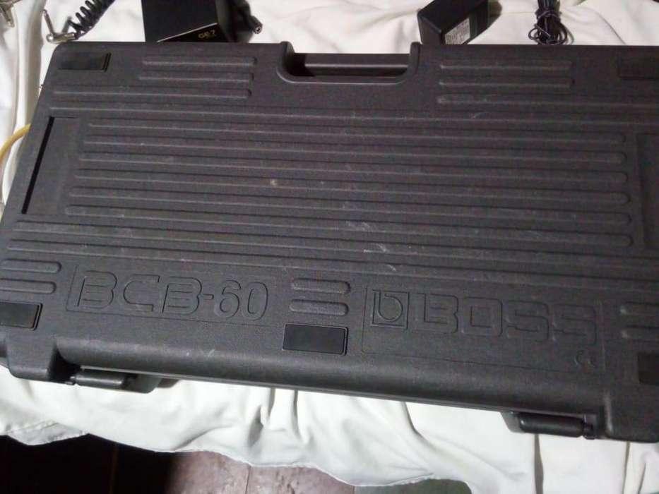 Vendo pedal board boss bcb 60