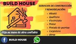 Se ofrece servicios múltiples de renovación, remodelación y construcción de tu hogar