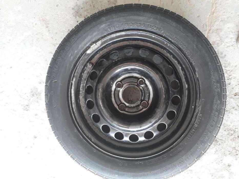 Cubierta Dunlop 185/60/14