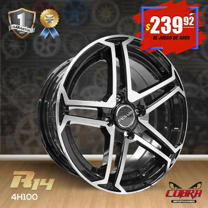 Aro Rin 14 JUEGO* Chevrolet Aveo Chevrolet Spark San Remo Nissan S
