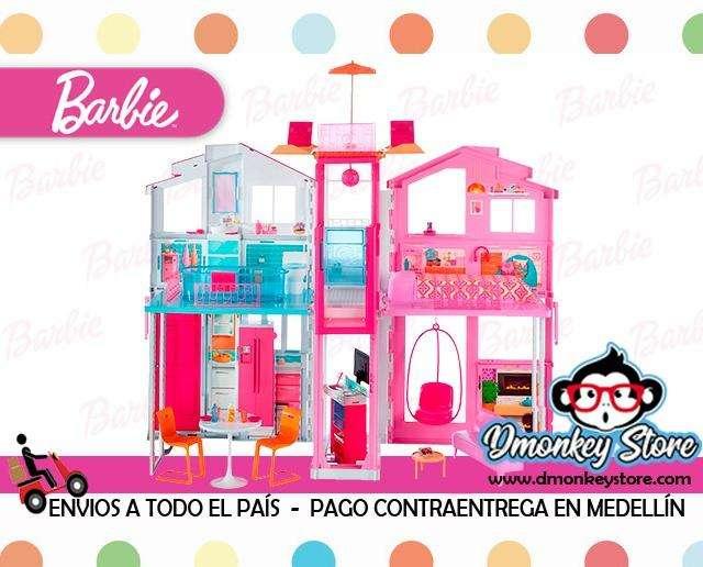 Barbie Casa De Campo Mattel Original juguetes para niña