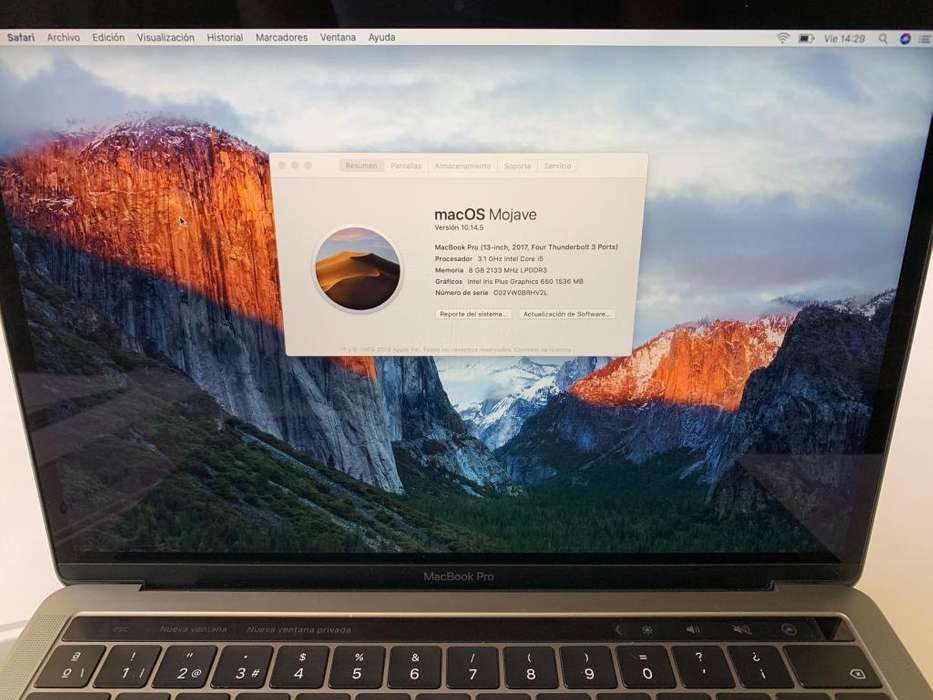 Macbook Pro Touch Bar 2017-2018