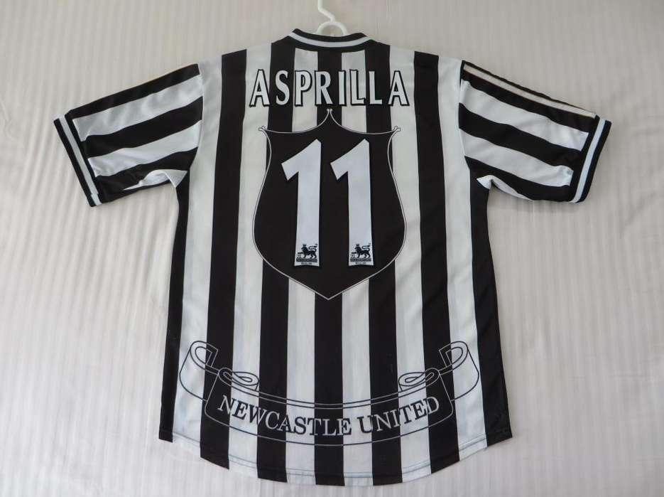 camiseta Faustino Asprilla, Newcastle United 1997/99
