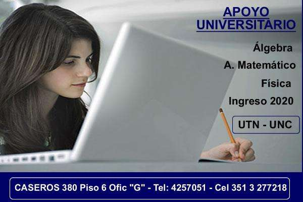 APOYO UNIVERSITARIO - INGENIERIA - CIENCIAS ECONÓMICAS
