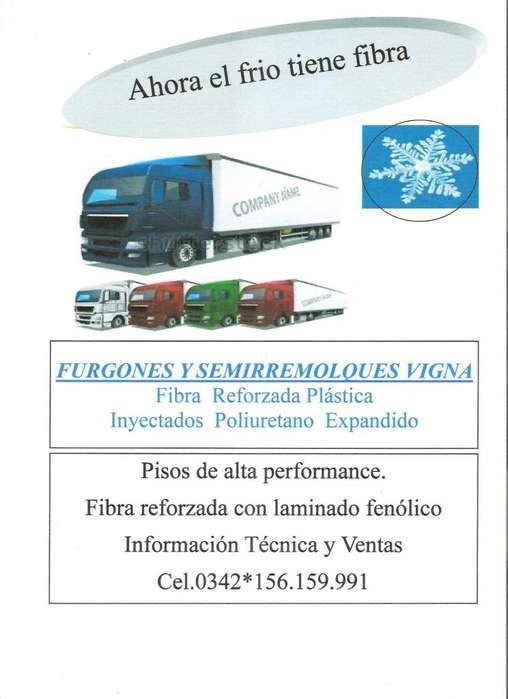 FURGONES Y EQUIPOS DE FRIO PARA TRANSPORTE AUTOMOTOR DE CARGAS REFRIGERADAS.