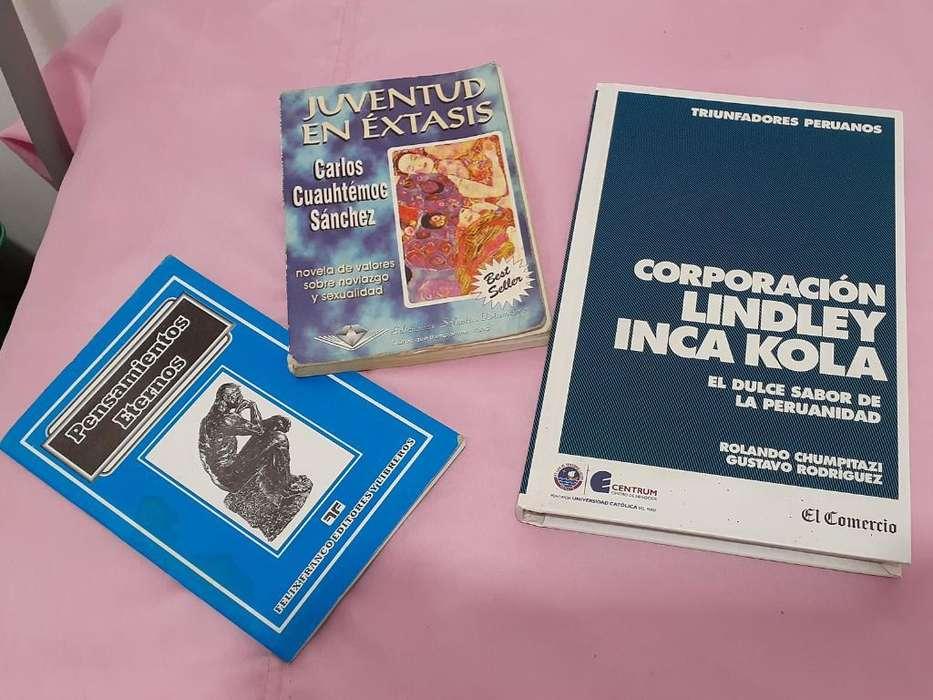 Libro Historia de Inka Kola Mas 2 Libros