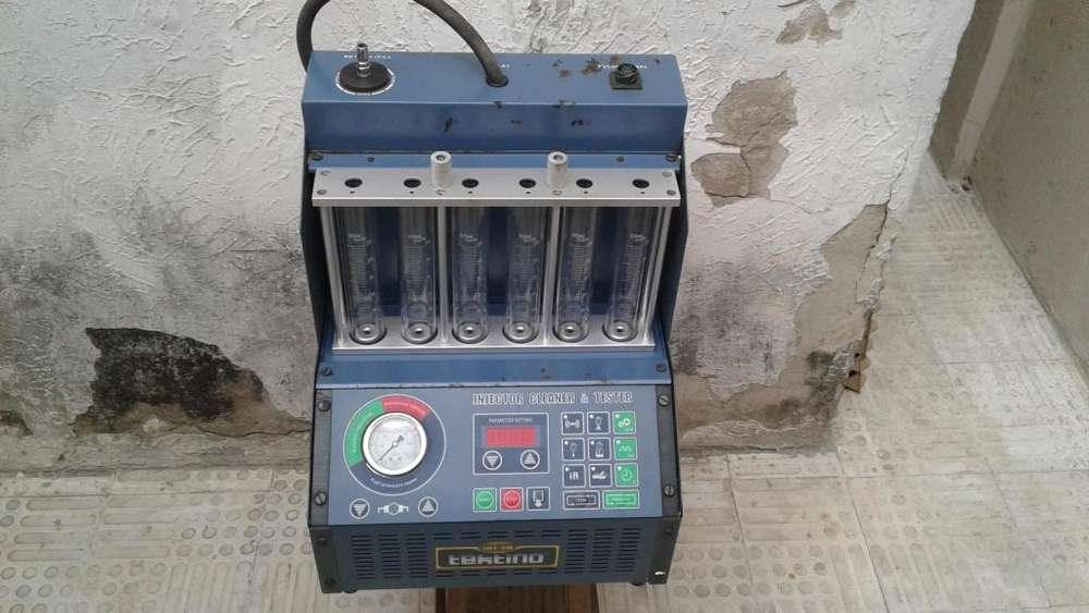 vendo maquina lavadora y probadora de inyectores a gasolina