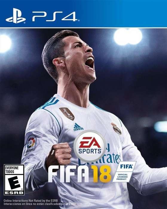 FIFA 18 PS4 Fisico Usado