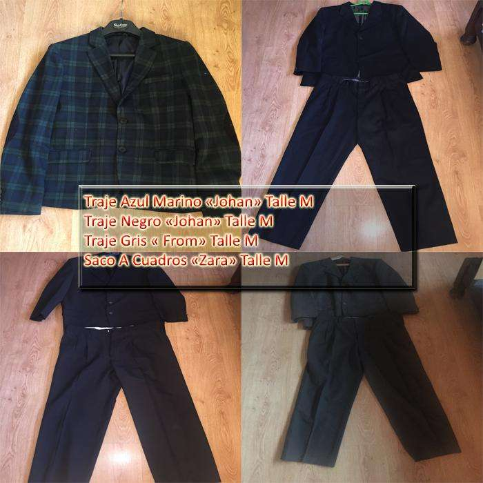 <strong>traje</strong>s para hombres talle M