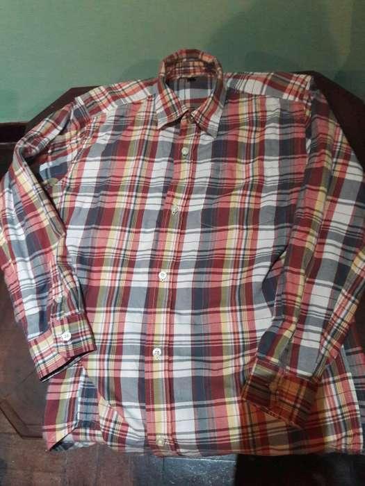 Oportunidad Camisa Gap Escosesa Talle 14