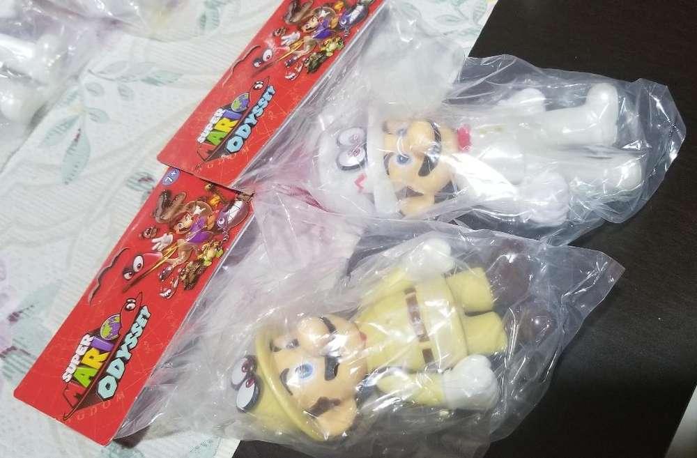 Muñecos de Coleccion Mario Bros