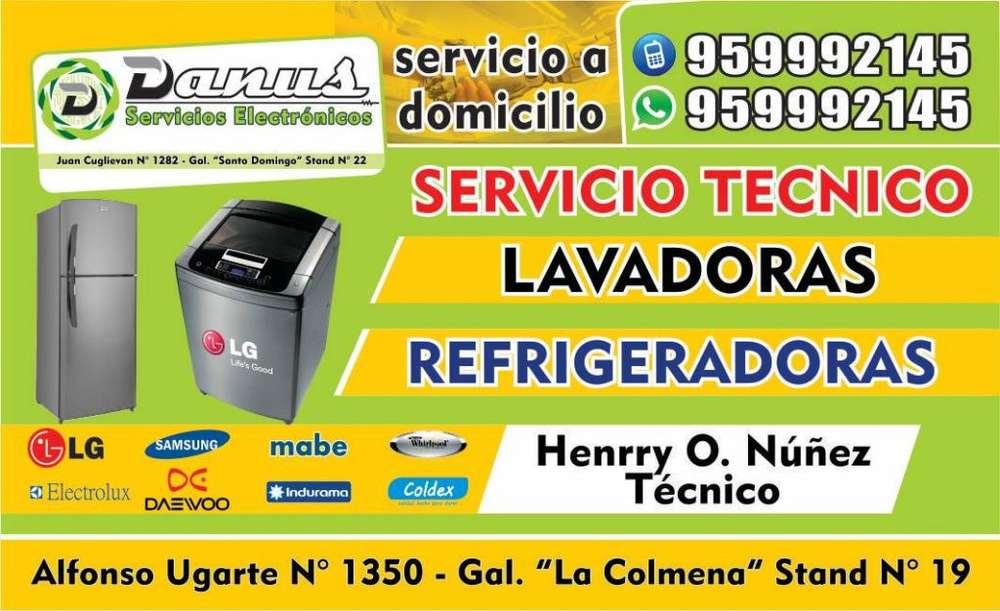 SERVICIO TECNICO DE LAVADORAS, REFRIGERADORAS Y AIRE ACONDICIONADO EN CHICLAYO 959992145