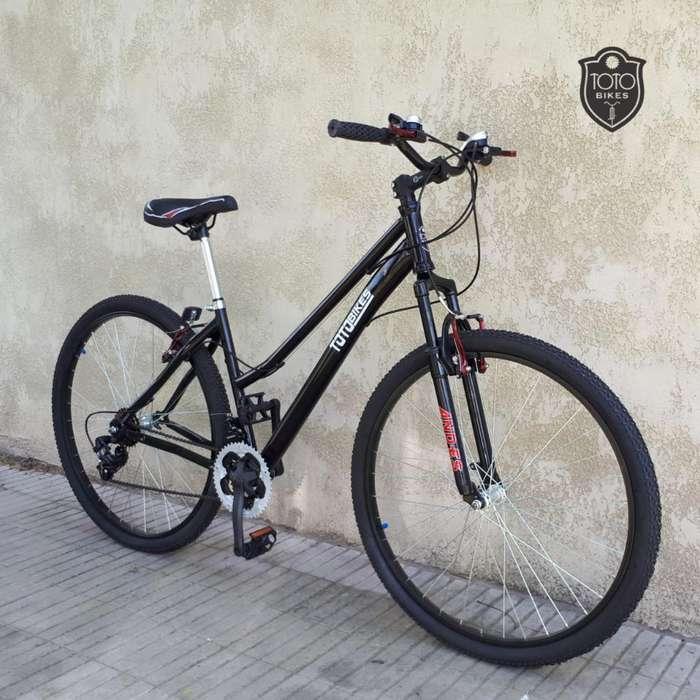 bicicleta mtb acero rodado 29 nuevas