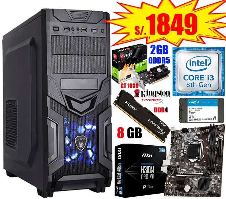 CPUs y PCs Intel Core I3 e i5, Octava Generación, Todo Nuevo!