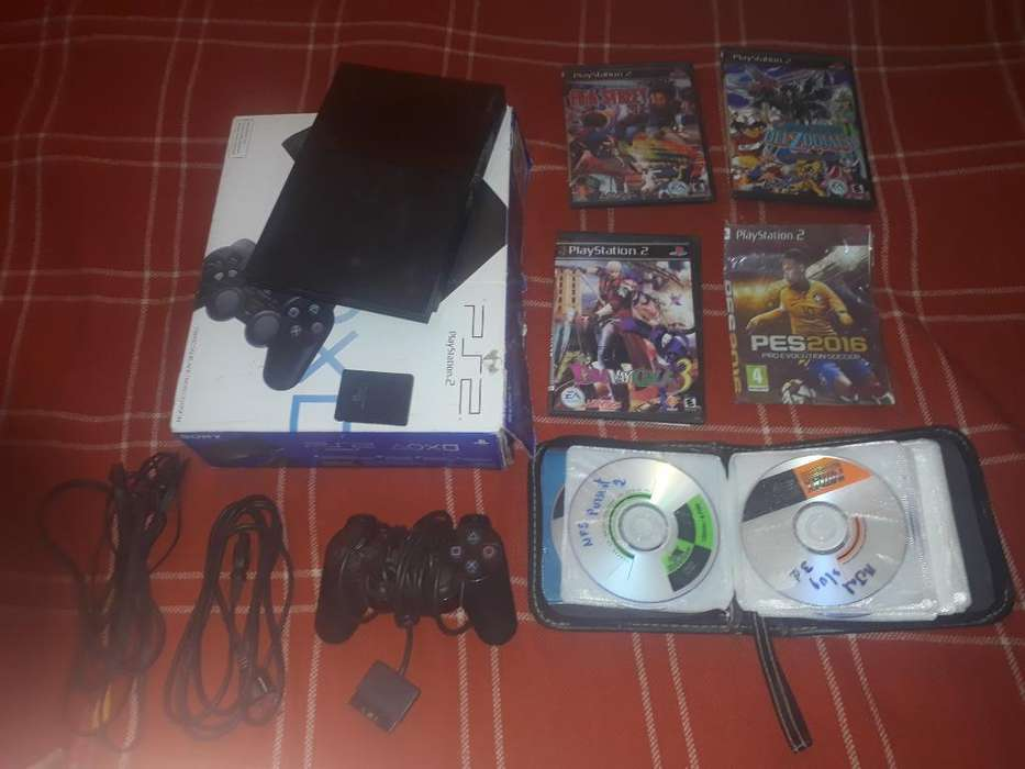 Vendo Ps2 (buen Estado)