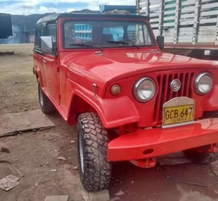 <strong>jeep</strong> Comando 1969 - 230000 km