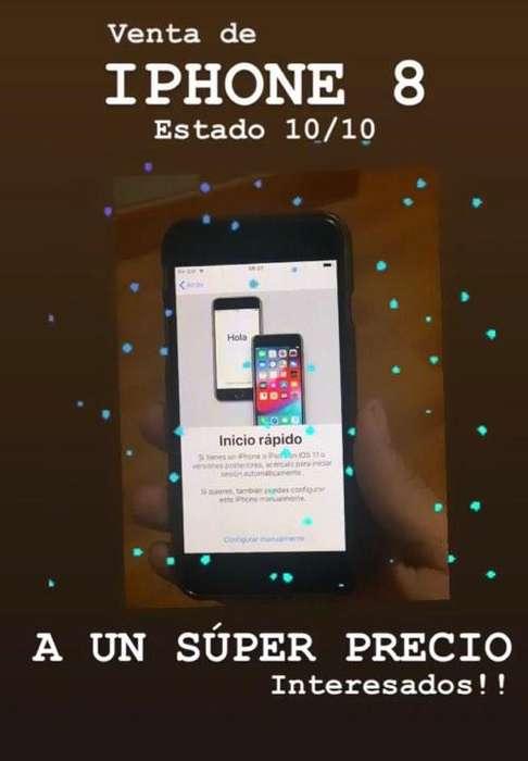 IPHONE 8 64 GB SEMINUEVO