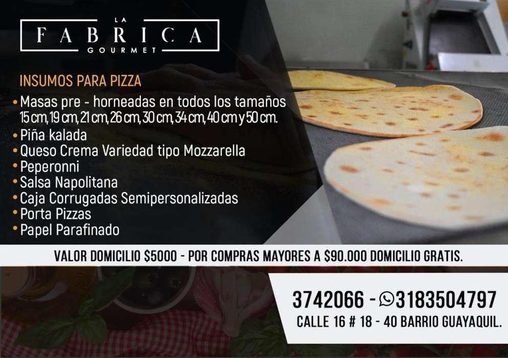 Masa de Pizza Pre Horneada para pizzas