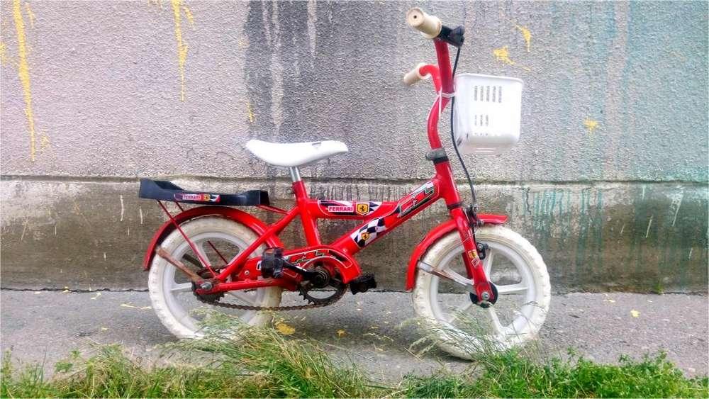 Bicicleta para nene o nena