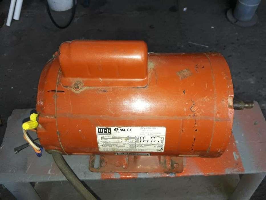Motor Monofasico de 2 Hp 3600 Rpm Weg