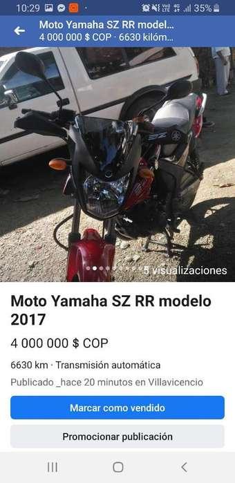 <strong>yamaha</strong> Sz Rr Modelo 2017