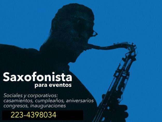 Saxofonista para eventos Mar del Plata