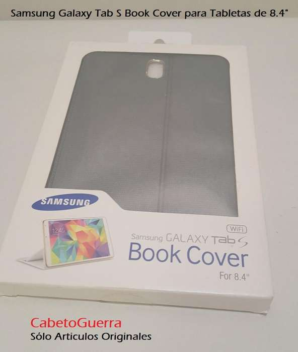 Forro Samsung Galaxy Tab S 8.4 Book Cover Original Nuevo