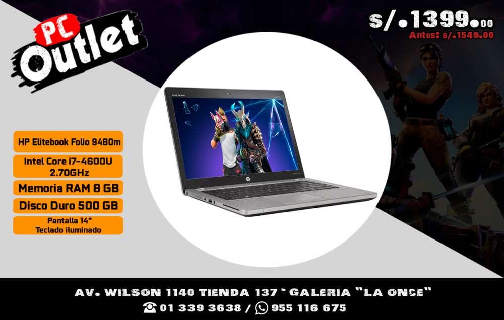 laptop HP EliteBook Folio 9480m Intel Core i7-4600U