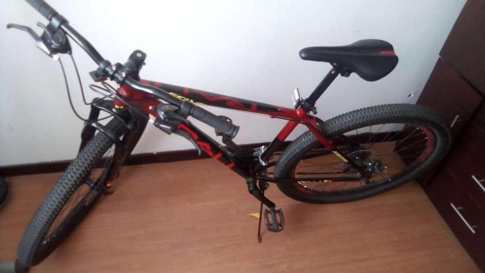 Bicicleta MILÁN original (2 meses de uso) con accesorios