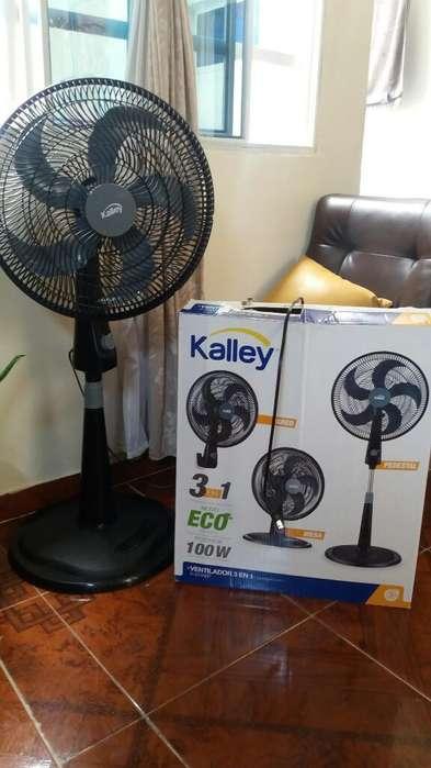 Ventilador Kalley 3 en 1; Excelente