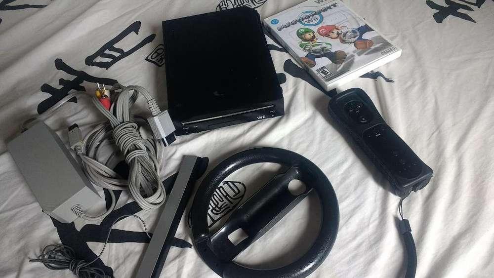 Nintendo Wii con Mario Kart