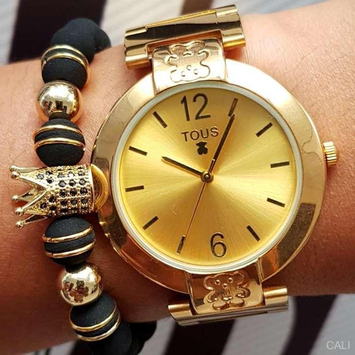 Reloj Tous para mujer en dorado