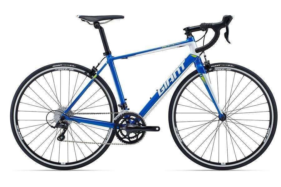 <strong>bicicleta</strong> Flamante Ruta Triatlon GIANT Defy Shimano Sora Talla M