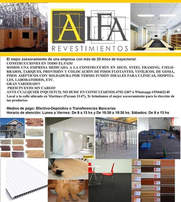 CONSTRUCCIONES REVESTIMIENTOS REFACCIONES