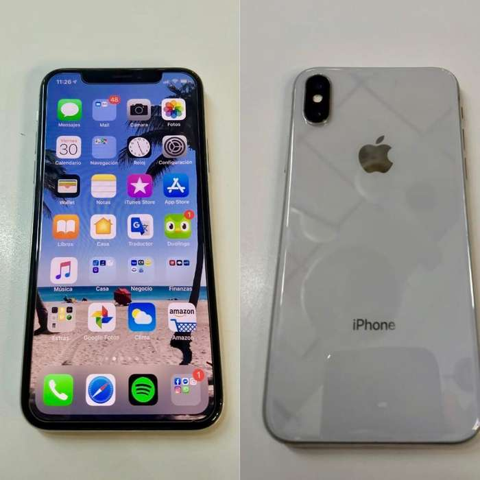 IPHONE X 256GB, EXCELENTE ESTADO