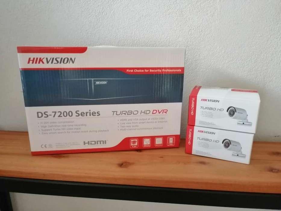 Kit Completo Seguridad Hikvision