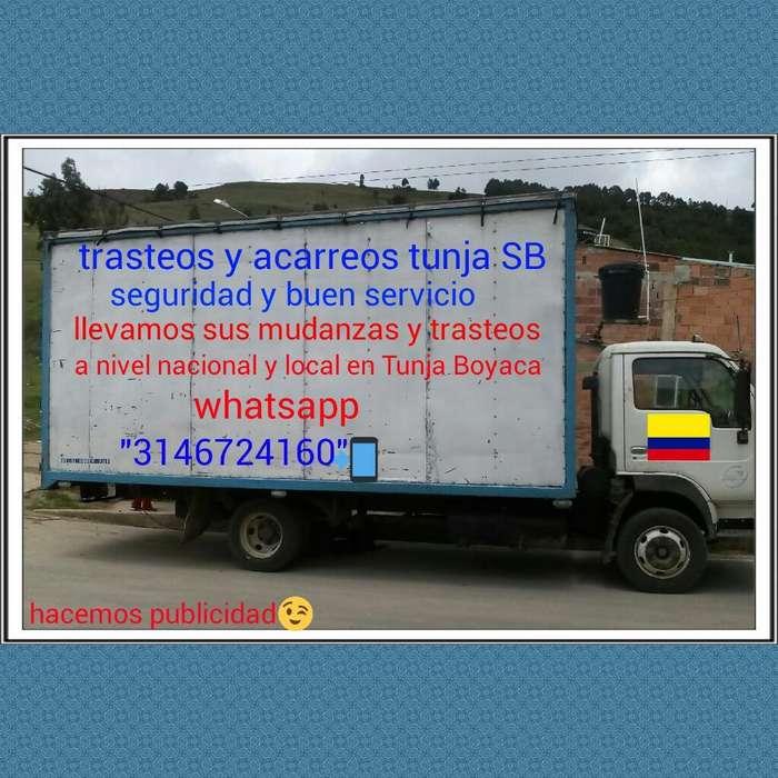 Trasteos Mudanzas Y Acarreos Tunja Sb